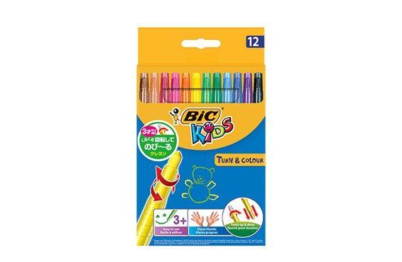 【BABY&KID's FESTA】のびーるクレヨン BIC®KIDS 12色 ママからのクチコミ!