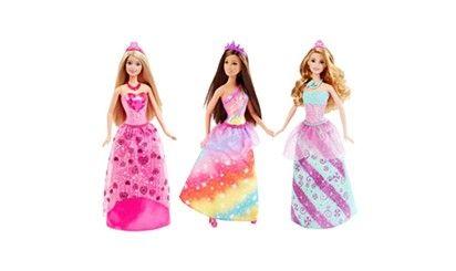 女の子の夢と憧れがつまった、フェアリー プリンセスシリーズ バービーアソート
