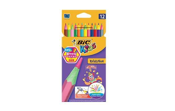 【BABY&KID's FESTA】サーカス色鉛筆 BIC®KIDS 12色 ママからのクチコミ!