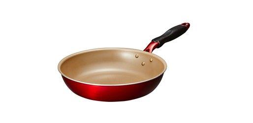 深めで炒めものにピッタリ!こびりつきにくいevercook α 炒めフライパン(28㎝)