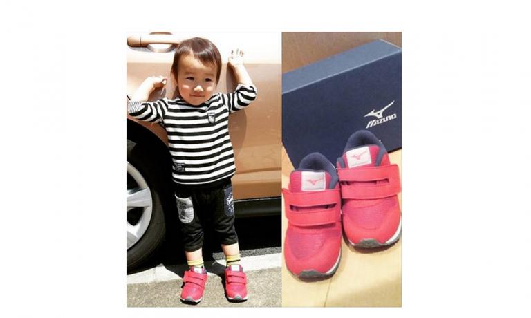 1歳~3歳児の健康な足を育てるスニーカー「タイニーランナー4」モニター報告