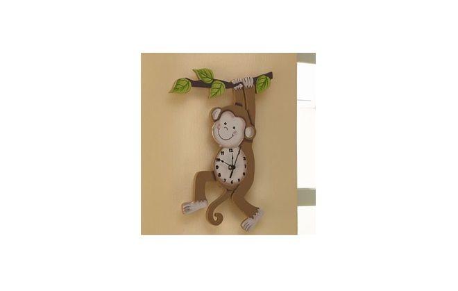子ども部屋に飾りたい壁かけ時計 Team Son Wall Clock – Sunny Safari