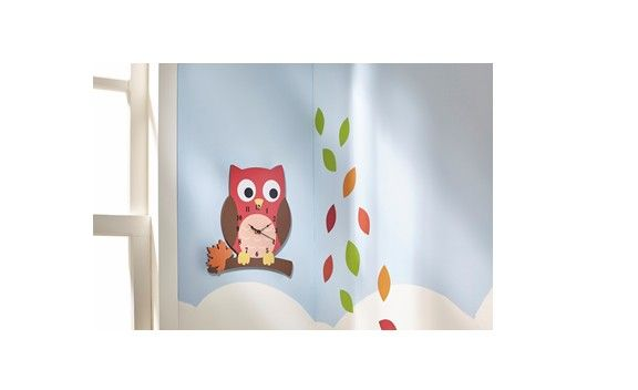 【BABY&KID's FESTA】Team Son Enchanted Woodland Wall Clock ママからのクチコミ!