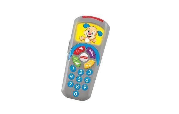 赤ちゃんが好きなテレビのリモコンがおもちゃに! フィッシャープライス わんわんのバイリンガル・リモコン