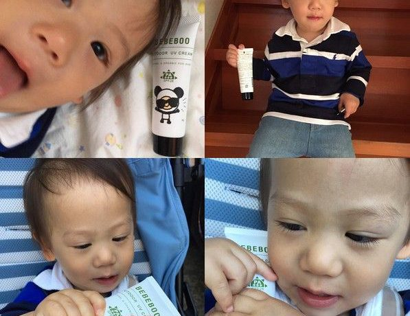 日本の赤ちゃんのためのオーガニックブランド「ベベブー UVクリーム」ママの口コミ