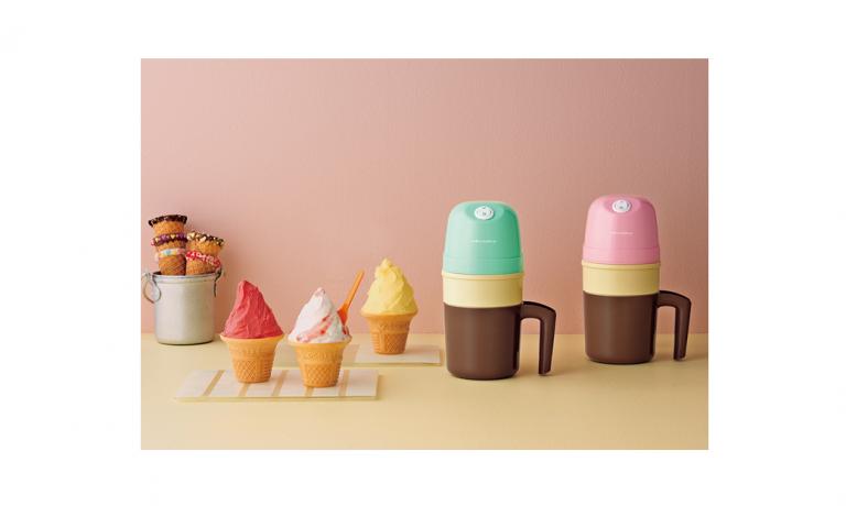 プレゼント!食べたいときに食べられるアイス「レコルト アイスクリームメーカー」