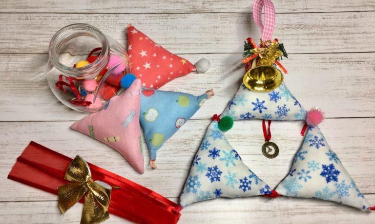 【9日限定】三角モチーフでクリスマスツリー(500円~)