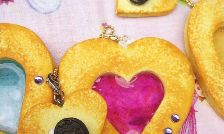 ステンドグラスクッキーチャームづくり(800円)