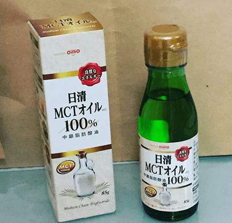 中鎖脂肪酸油100%使用の食用オイル「日清MCTオイルHC 85g」モニターママの口コミ