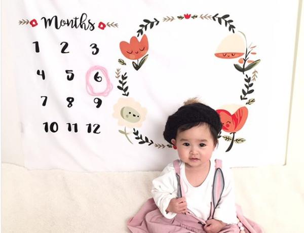 赤ちゃんの記念日をブランケットと撮影「フォトアートブランケット」モニターママの口コミ!