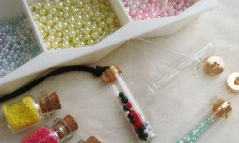 【11日】ガラスのネックレスを作ろう