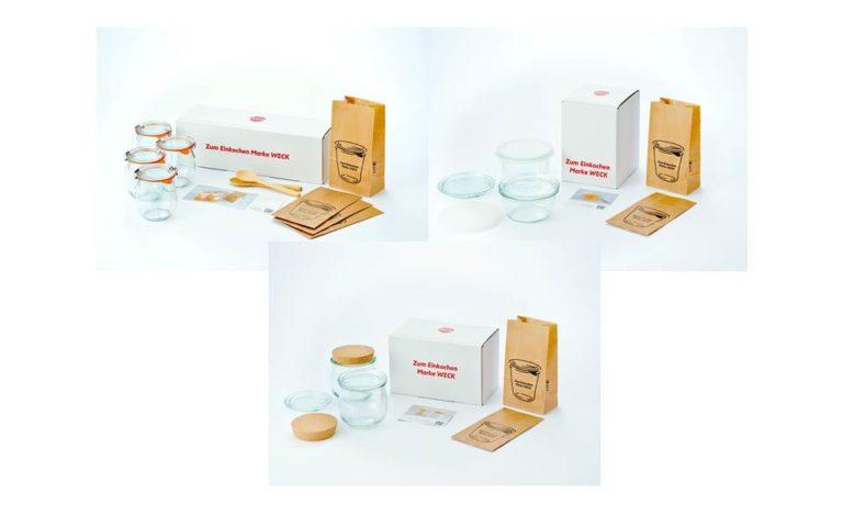 WECK GIFT BOX  (TULIP 200ml×4、TULIP 370ml×2、 MOLD 230ml×1・300ml×1)
