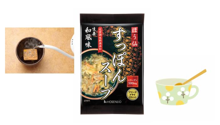 お湯を注ぐだけで手軽においしい「ほう仙すっぽんスープ」のモニター募集!