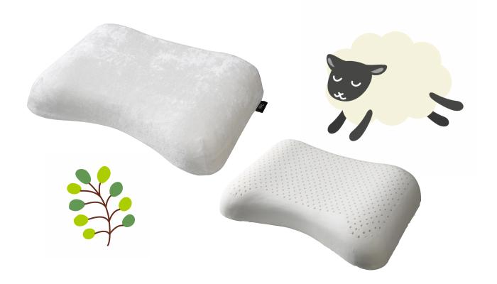 プレゼント!子どもといっしょに寝ているママにぴったり!「ライズ スリープラテックス ピロー 首肩フィット枕」