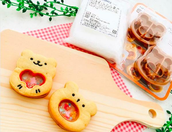 「アレンジが楽しいシャカシャカクッキー型(くま)とパラチニット顆粒」モニターママの口コミ!