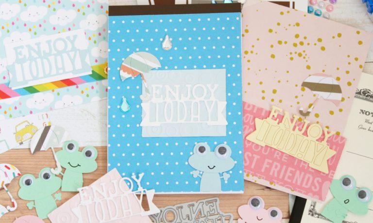 【9日】たのしいカワイイいっぱい オリジナルメモ帳つくろ!