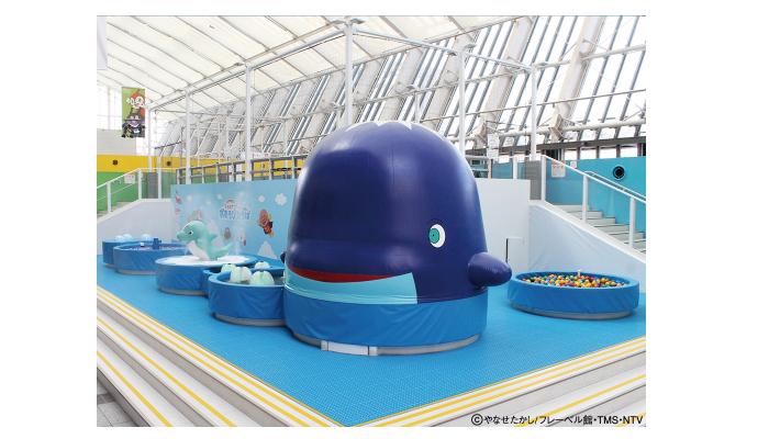 プレゼント! 期間限定の水遊び広場がオープンした「福岡アンパンマンこどもミュージアムinモール」の入場券