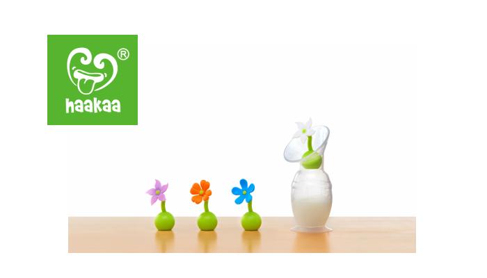 2018年6月日本初上陸! 世界中で愛用されているHaakaa「シリコーン搾乳器」と「搾乳器用フラワーストッパー」のモニター募集!