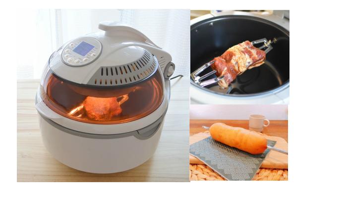 いろいろ使える!「塊肉回転コンべクションオーブン」モニターママの口コミ!