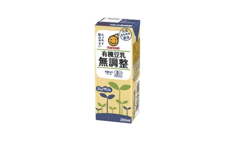 有機豆乳無調整 200ml