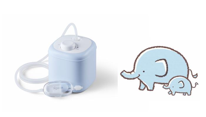 耳鼻科のようなケアがママにもできる! ピジョン「電動鼻吸い器」のモニター募集!