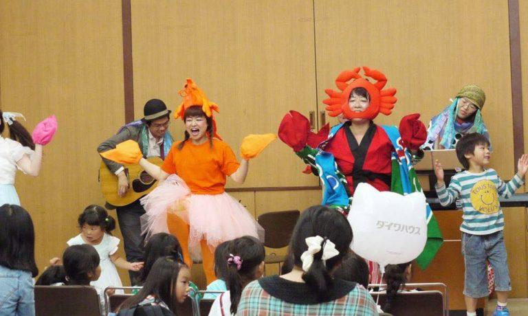 【17日】15:00 ・ママーズのエビカニクスミュージカル!