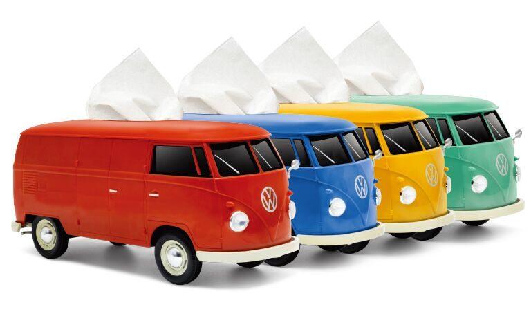 なんとティッシュが走っていく!?「VWバス ティッシュボックス」のモニター募集!