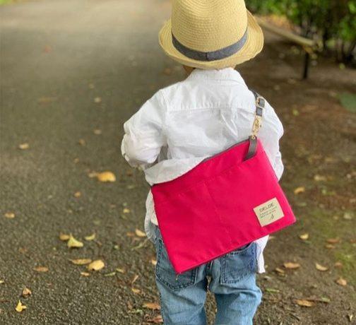 大きさが変わる!「DELDE ショルダーバッグ レギュラーサイズ」モニターママの口コミ!
