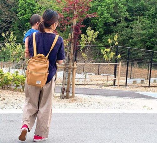 トートとリュックの2WAYバッグ「DELDE トートリュック ミニサイズ」モニターママの口コミ!