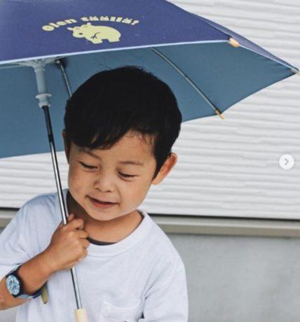 晴雨兼用子ども日傘「kukka hippo parasol」モニターママの口コミ!