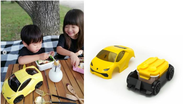スーパーカーのランチボックス「ランボルギーニ ウラカン弁当箱」モニターママの口コミ!