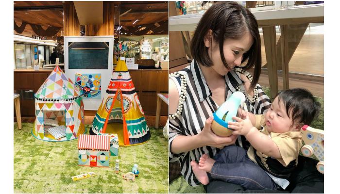 伊勢丹新宿店本館6階=センターパーク/ココイクパーク <DJECO(ジェコ)>Designable Toy Shopモニターママの口コミ!