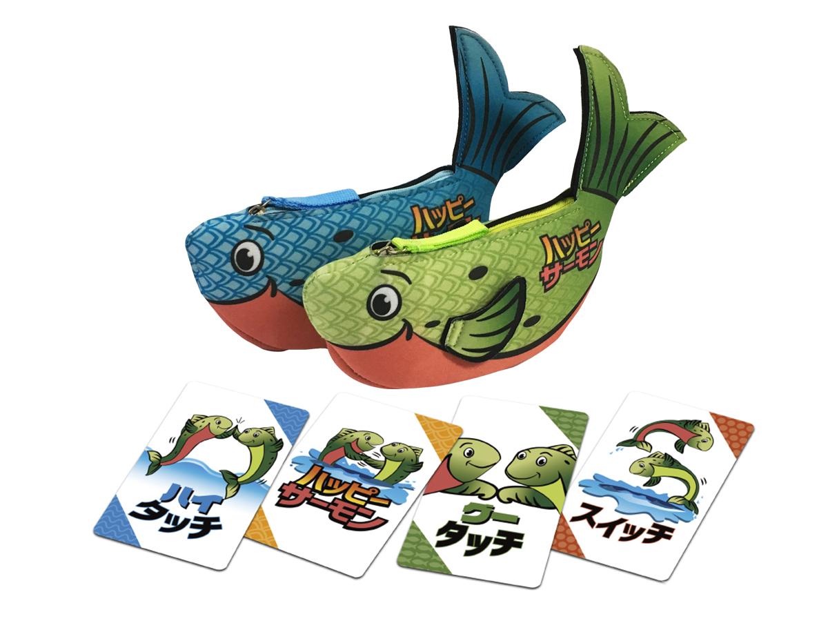 プレゼント!全世界20カ国以上で大ヒットのカードゲーム「ハッピーサーモン 日本語版」