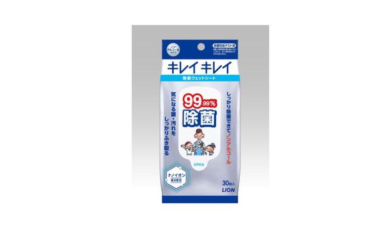 キレイキレイ99.99%除菌ウェットシート
