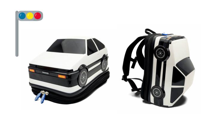 懐かしの車がリュックに!「バックパック トヨタ AE86」のモニター募集!