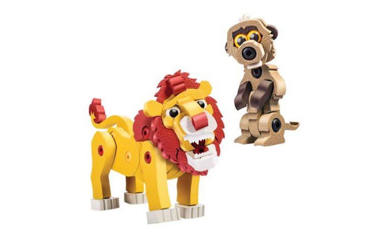 ブロッコ アニマルシリーズ ライオン&ミーアキャット