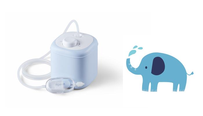 子どものつらい鼻づまりを解消してくれる、ピジョン「電動鼻吸い器」のモニター募集!