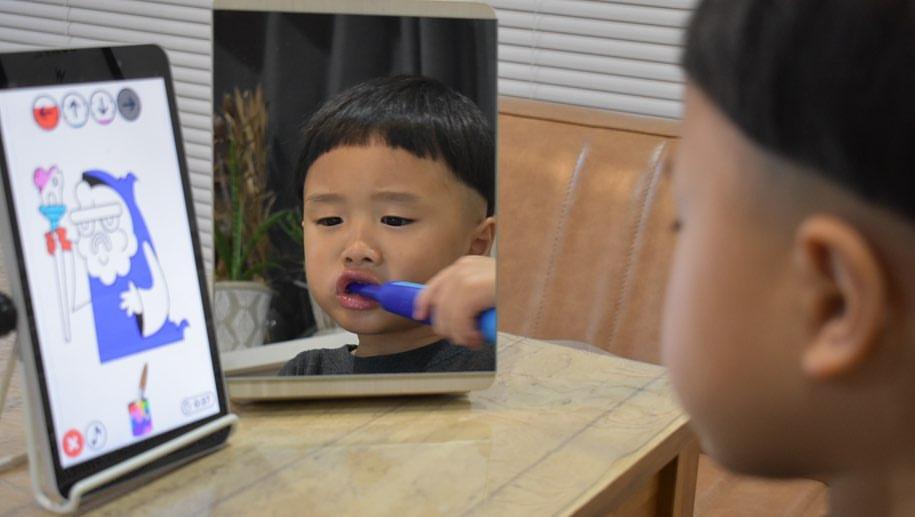 子ども用電動歯ブラシ「プレイブラッシュ スマート ソニック」モニターママの口コミ!