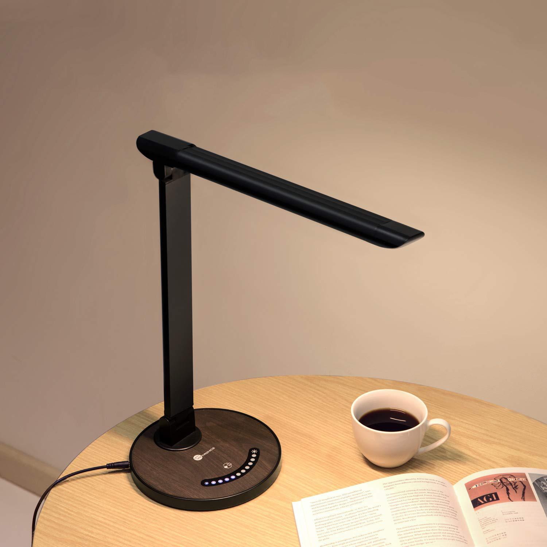 """勉強机で使いたいシンプルなライト「TaoTronics LEDデスクライト""""TT-DL13″ 木目調」のモニター募集!"""