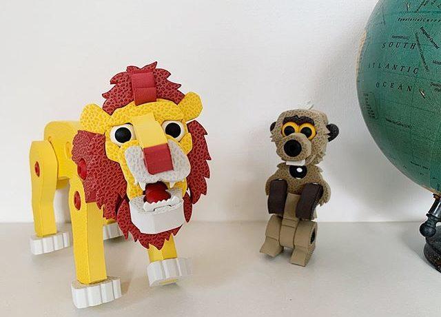 「ブロッコ アニマルシリーズ ライオン&ミーアキャット」モニターママの口コミ!