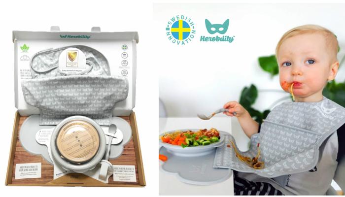 プレゼント!北欧スウェーデン発のオシャレなお助けアイテム「Herobility (ヒロビリティ) お食事スターターセット」