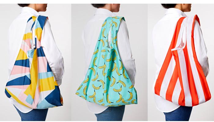 ロンドン発!使用済みペットボトル6本から生まれたおしゃれなエコバッグ「KIND BAG」のモニター募集!