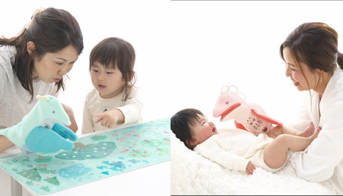 子どもへの語りかけのきっかけに♪「おはなしパペット(モグモグ、パタパタ)」のモニター募集!
