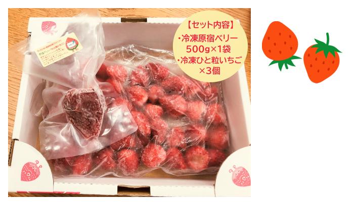 農産物を食べて応援!新ブランドのいちごでおいしいメニューを作って♪「原宿ベリーの冷凍イチゴ」のモニター募集!