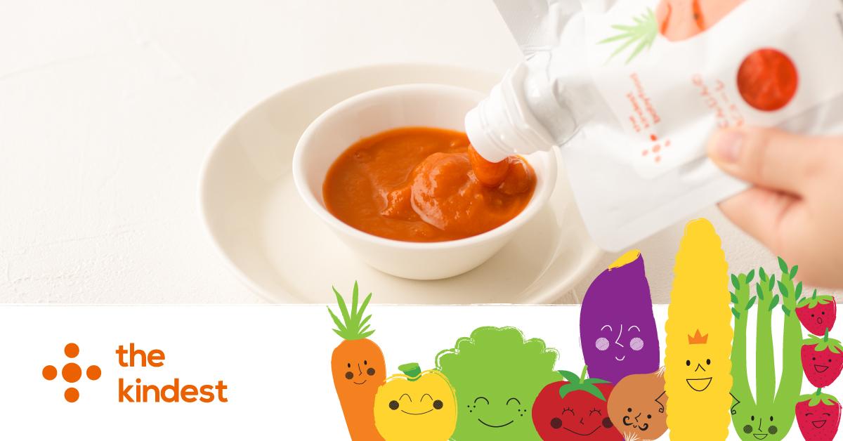 離乳食づくりはプロにお任せの時代が到来!「the kindest babyfood お試しピューレ3食セット(にんじん、かぼちゃ、さつまいも)」のモニター募集!