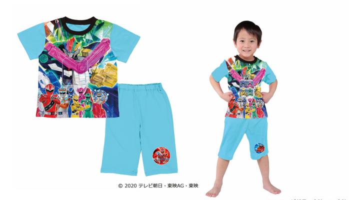 プレゼント!見る角度によって絵柄が変わって見えるパジャマでキラメこうぜ!「魔進戦隊キラメイジャー 変わ~るチェンジングパジャマ」