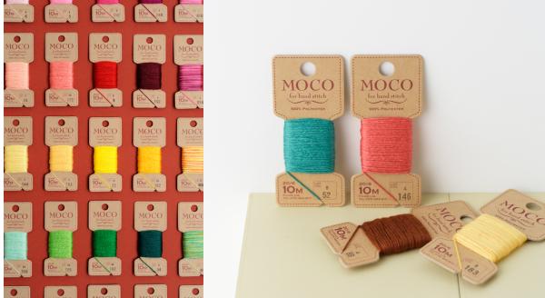 ハンドステッチ糸「MOCO」