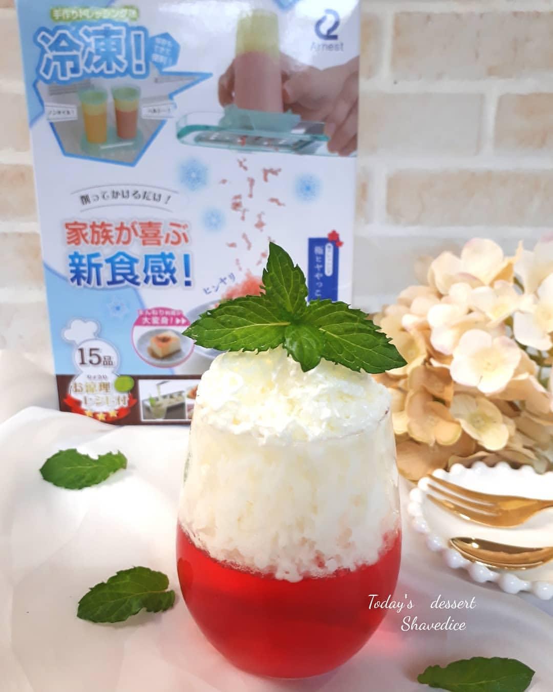 夏のお料理をひんやり楽しく「お涼理メーカー アイスシェフ」モニターママの口コミ!