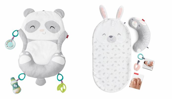 プレゼント!ねんね期の赤ちゃんと楽しくお家でヨガタイム&ベビーマッサージ♪「感覚を育てよう!パンダのプレイマット」「感覚を育てよう!うさぎのベビーマッサージセット」