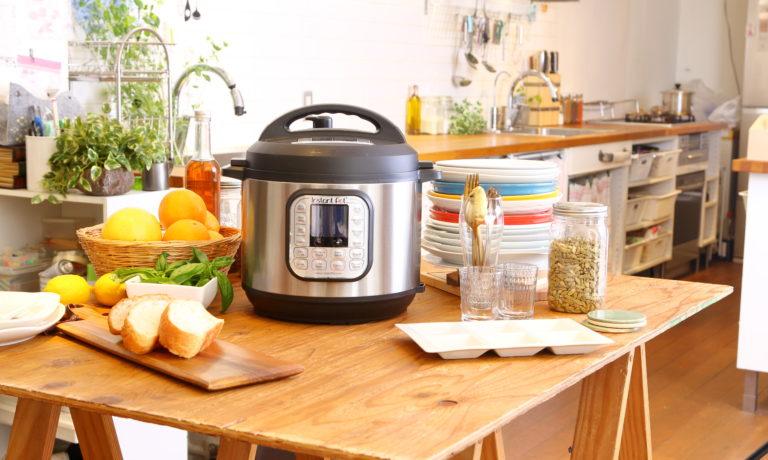 1台で7役もこなすマルチ電気圧力鍋「Instant Pot (インスタントポット)」のモニター募集!
